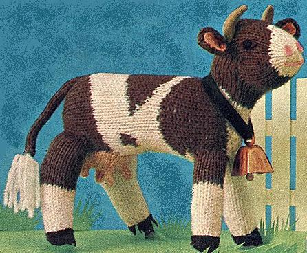 Perhaps a Knit Cow to accompany the Horse under the tree?
