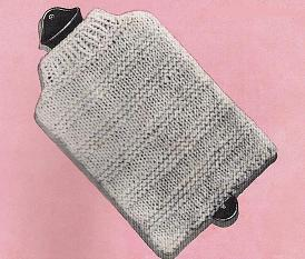 Baby's hot water bottle cover