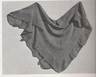 Knitted Square Shawl