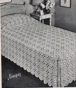 Crochet Bedspread Patterns | Free Vintage Crochet Patterns