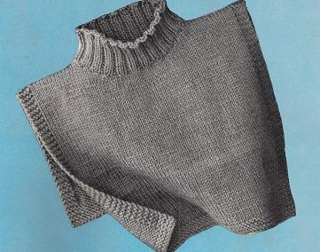 Woman's turtleneck dickey