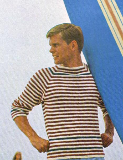 Knit young man's Beach Pullover