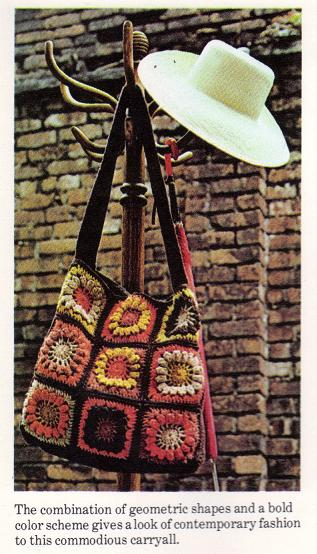 Granny Square Bag Free Pattern : Granny Squares - Crochet a Shoulder Tote