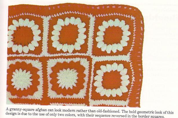 Granny Squares-Motifs-Applique - Free Patterns: Crochet Solid