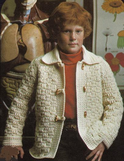Pattern Correction - Crochet Victorian Jacket Crochet Pattern