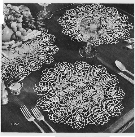 Pineapple Doily and Table Topper Pattern [PS019] - $7.99 : Maggie