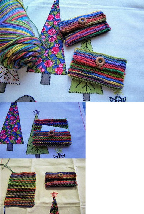 Quick Knit And Crochet Gift Card Holders Free Patterns