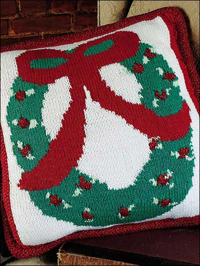 Quick Gifts ? Christmas Pillows ? free patterns to knit ...