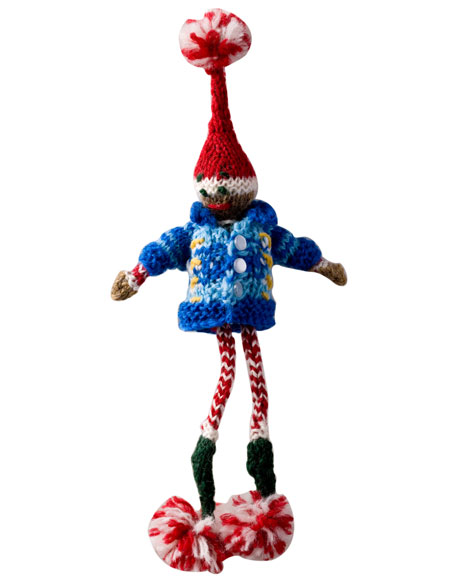 Knitting Pattern For Xmas Elf : Christmas Elves and Gnomes to Knit and Crochet ...