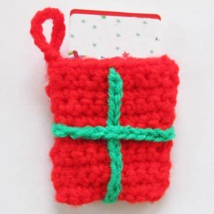 Free Crochet Pattern Gift Card : Quick Knit and Crochet Gift Card Holders ? free patterns ...
