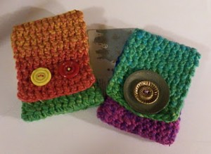 Quick Knit and Crochet Gift Card Holders – free patterns ...