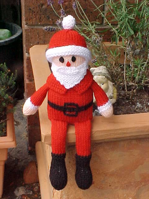 Santa Claus Patterns   knit and crochet   seven to choose from   Grandmother&...