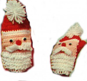 Knit and Crochet Santa Hats, Mittens, Scarves ? free ...