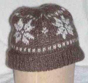 Free Knitting Patterns Hats Scarves Gloves : Snowflake Hats, Scarves, Mittens to knit and crochet   free patterns   Grandm...