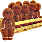Knitting Pattern For Gingerbread Man : Gingerbread to Knit and Crochet   free patterns ...