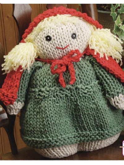 Knitted Baby Bunting Pattern : More free knit and crochet Little Red Riding Hood patterns   Grandmother...