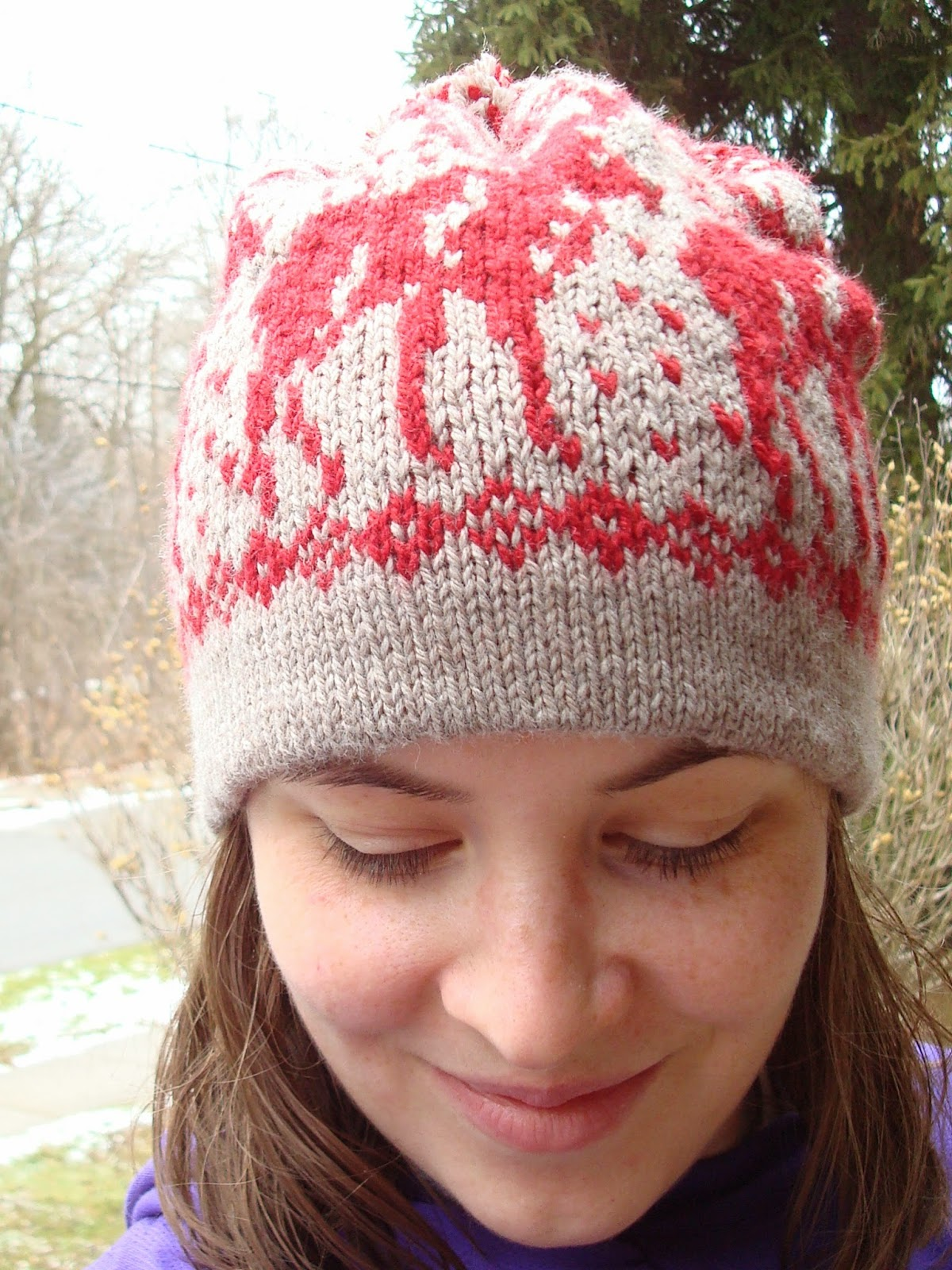 Knitting Pattern For Loose Hat : Animals of Alaska   free patterns to knit and crochet ...