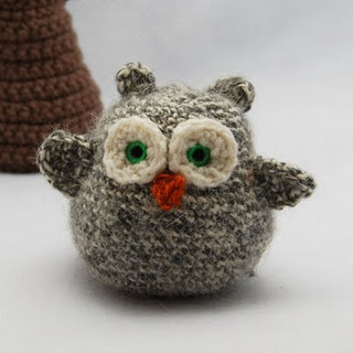 Free Crochet Pattern Small Owl : free small crochet owl pattern Car Tuning