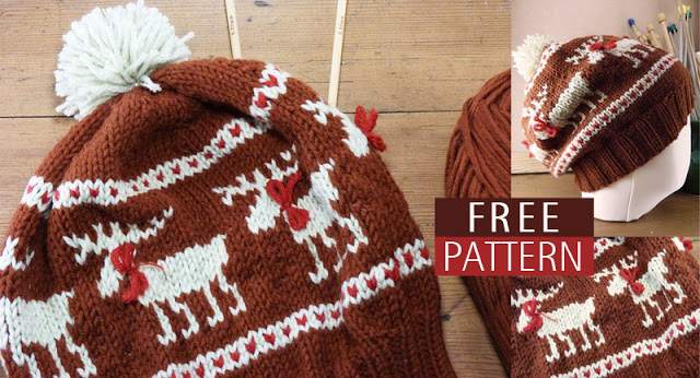 Animals of Alaska – free patterns to knit and crochet – The Moose ...