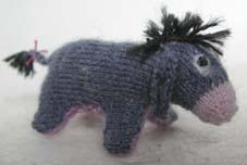 Free Dk Baby Knitting Patterns : Happy Birthday to Author A.A. Milne   Free ? Little Blue Donkey? patterns to ...