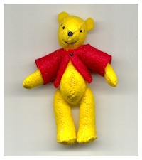 Winnie The Pooh Knitting Patterns Free : CLASSIC WINNIE THE POOH KNITTING PATTERNS   KNITTING PATTERN