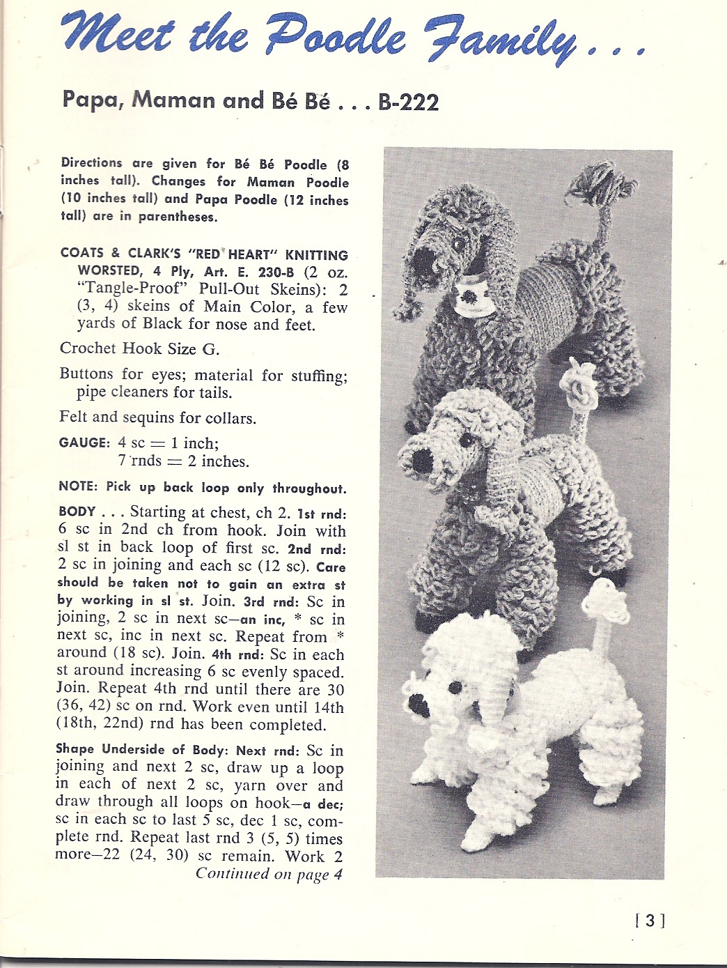 Free Stuffed Animal Patterns – Dogs to knit, sew, crochet ...