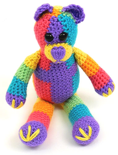 Mary Maxim Teddy Bear afghan pattern - Crochetville