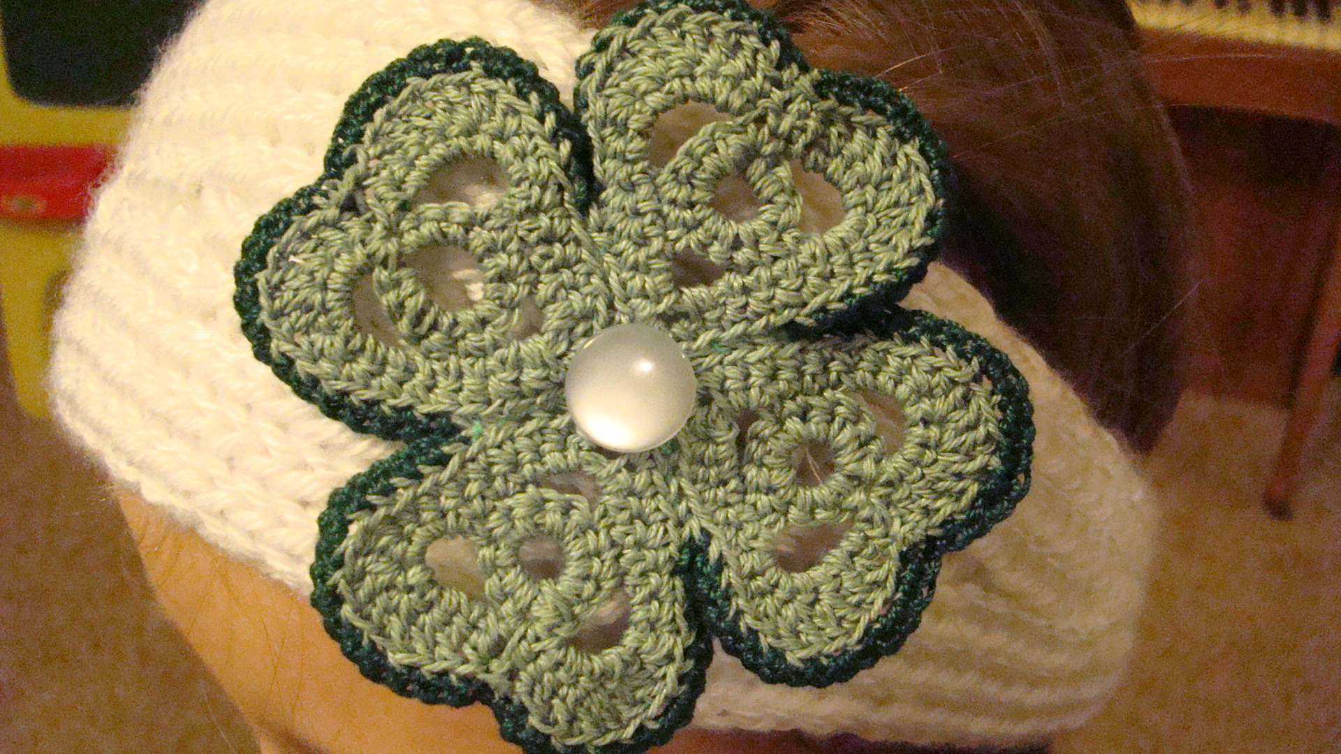 Free Crochet Patterns Four Leaf Clover : Crochet Shamrocks for St. Patrick s Day ? free patterns ...
