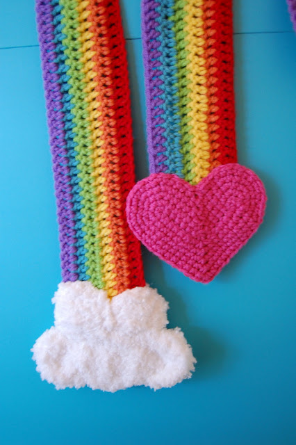 Crochet A Rainbow For St Patrick S Day Free Patterns