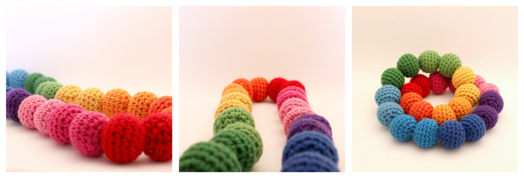 Crochet a Rainbow for St. Patrick's Day – free patterns