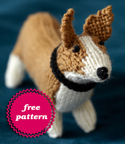 Free Knitting Patterns Stuffed Toys : Free Stuffed Animal Patterns   Dogs to knit, sew, crochet ...