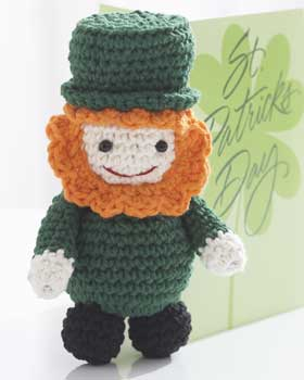 Free Leprechaun Hat Candy Dish Crochet Pattern - Orble