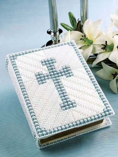 Crochet A Book Cover : Free crochet and plastic canvas pattern