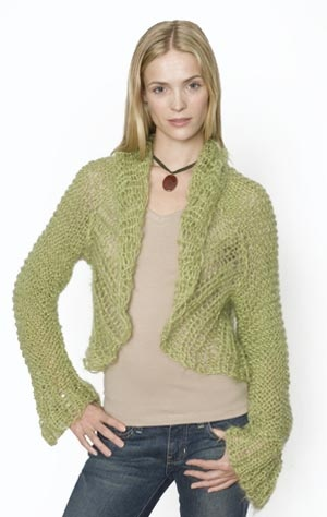 Knitting Pattern For Bolero Shrug : The Prettiest Knits for Spring   free patterns for women   Grandmothers ...