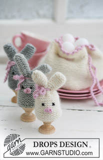 Easter bunnies and Spring lambs to knit and crochet: Part I - DIY Life