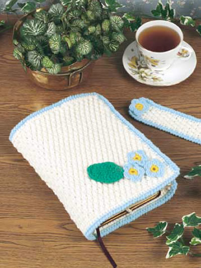 Crochet Book Cover Patterns : Bible covers to make and give for easter knit crochet