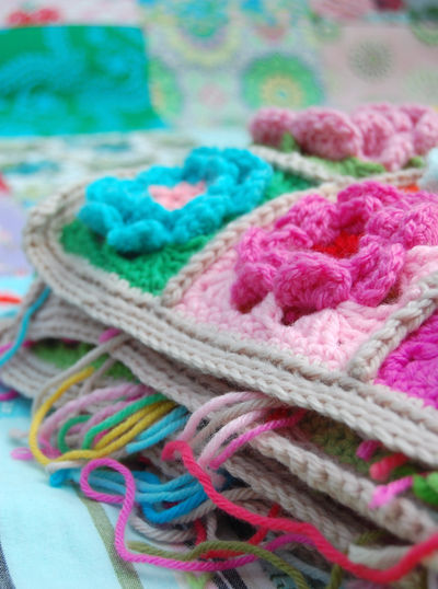 Welcome Spring With A Beautiful Crochet Flower Afghan - 16 free ...