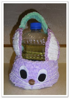 Easter Baskets to knit and crochet – free patterns