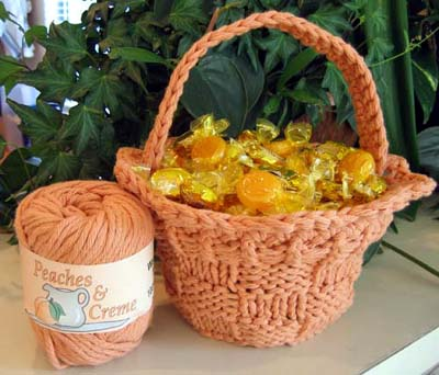 Easter Baskets To Knit And Crochet Free Patterns Grandmothers