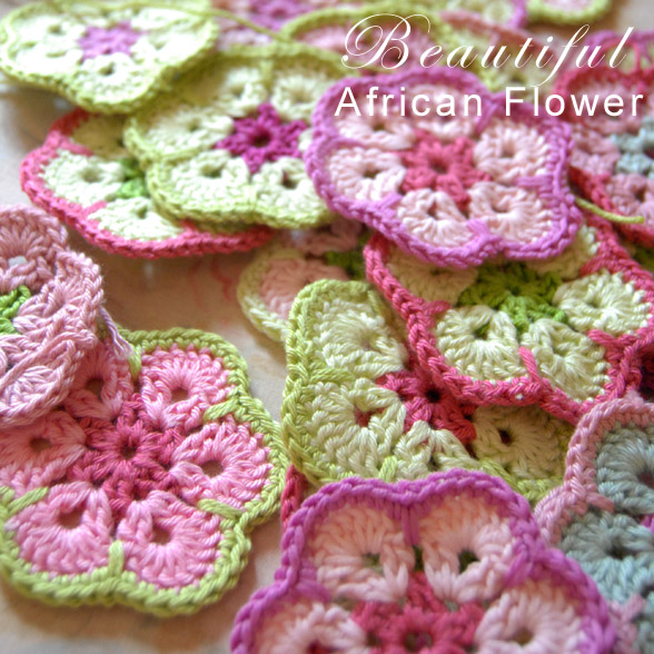 Crochet Patterns Of Flowers : ... Crochet Flower Afghan - 16 free patterns - Grandmothers Pattern