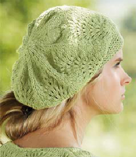 Spring Beret Knitting Pattern : Pretty Spring Hats to knit for women   free patterns ...