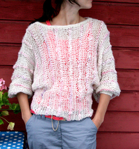 Summer Sweater Knitting Patterns : The Prettiest Knits for Spring   free patterns for women   Grandmothers ...