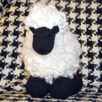 Knit a Little Lamb for Easter   free patterns   Grandmothers Pattern Book