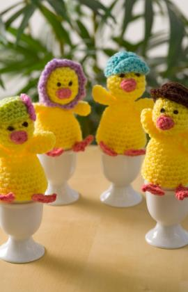 Easter egg cozies to knit and crochet free patterns hanging egg cozy crochet negle Gallery