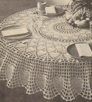 Free Crochet Oblong Tablecloth Patterns : CROCHET PATTERNS FOR RECTANGULAR TABLECLOTHS FREE ...