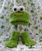 Knit Pattern For Frog Hat : Knit a frog for April   it s National Frog Month!   free ...