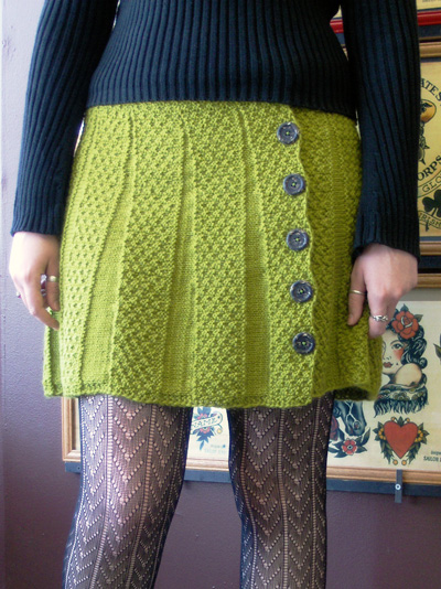 Knit Skirt Pattern Free : Spring and Summer Skirts for women   free patterns to knit and crochet   Gran...