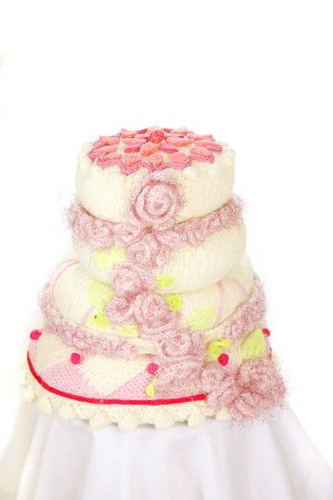 Wedding Knit And Crochet Wedding Cakes Free Patterns