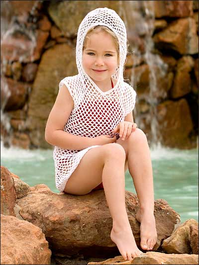 Cover Up At The Beach Free Crochet Patterns Grandmothers