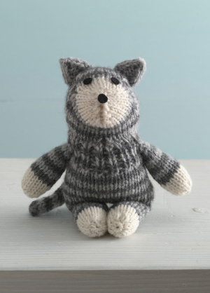 Grandmother's Pattern Book   More Cats to Knit – 27 free patterns